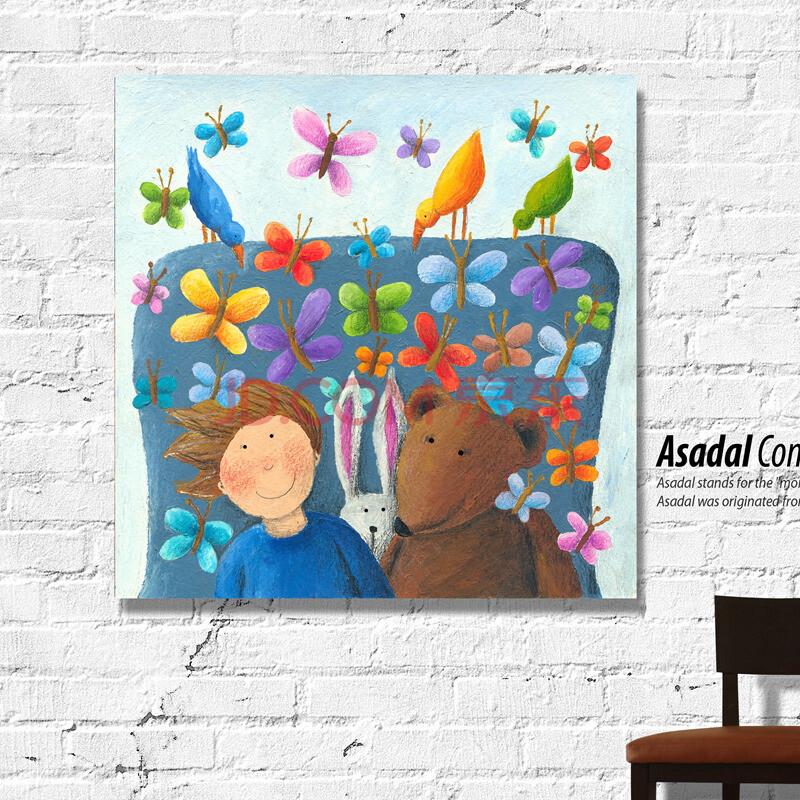 幼儿园卡通教室布置