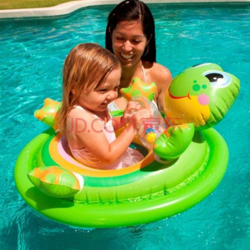 动物坐圈儿童游泳圈