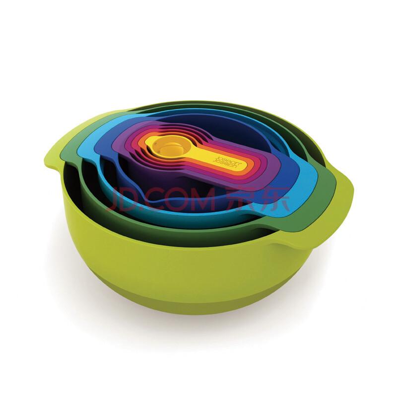 TAYOHYA 多样屋旗舰店 英国Joseph Joseph彩虹套装量勺量碗量杯搅拌碗