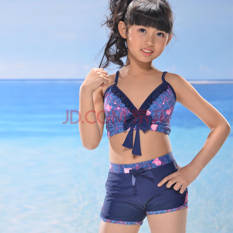 2013年新款 儿童泳衣女