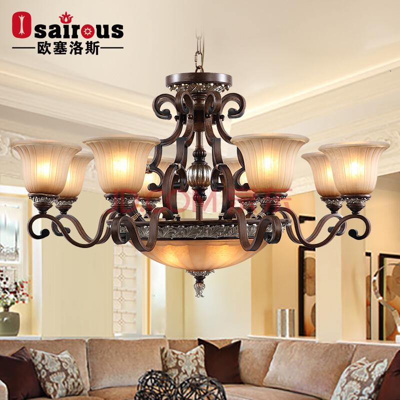 欧塞洛斯 复古欧式吊灯 客厅餐厅灯 q01-84图片