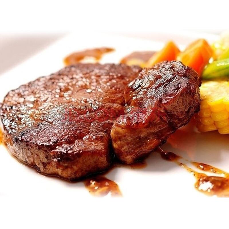 冷牛扒_天一冈山黑牛 150g 和牛 西冷牛排 雪花牛肉 鲜牛排 3片装