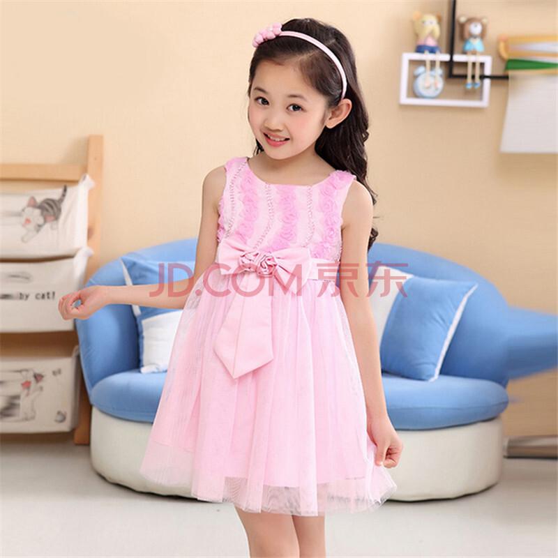 连衣裙玫瑰儿童裙子公主裙