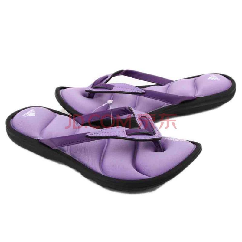阿迪达斯adidas女鞋拖鞋-G45738 紫色 39