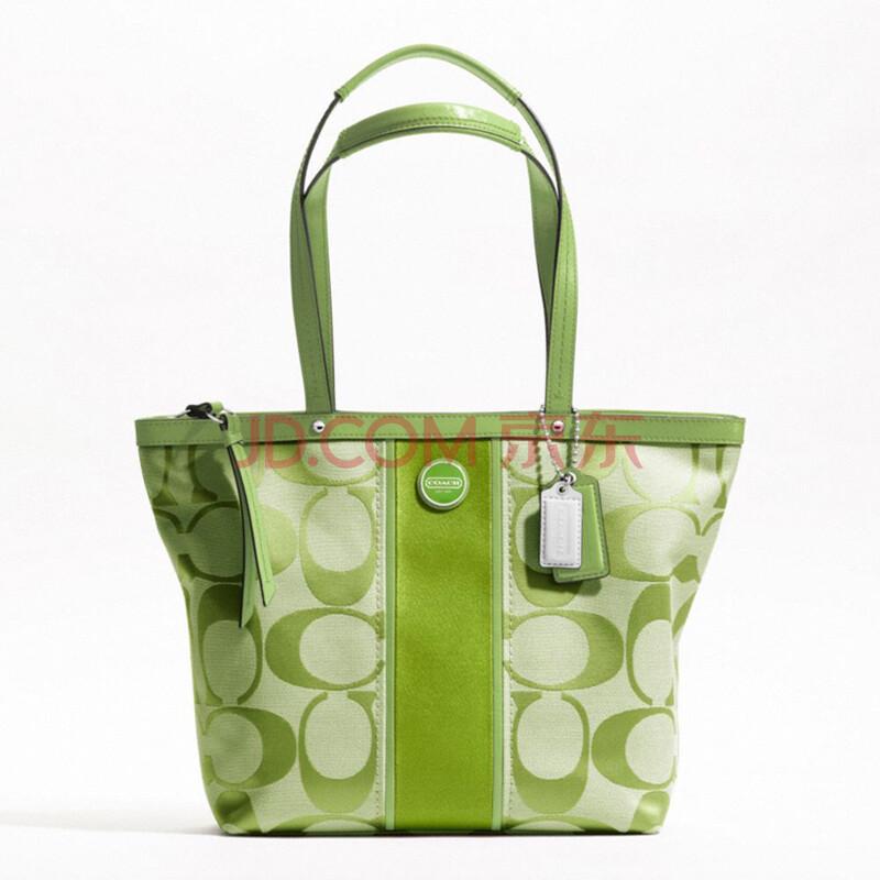coach绿色包包
