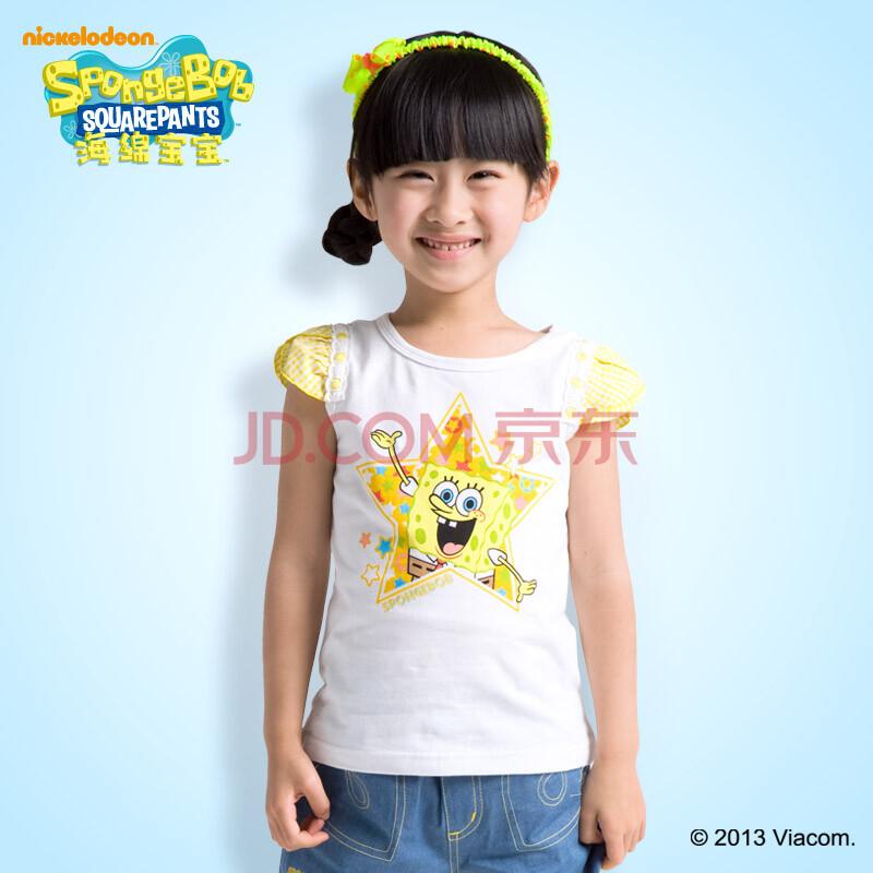 儿童服装 女童夏装 女孩夏季短袖t恤