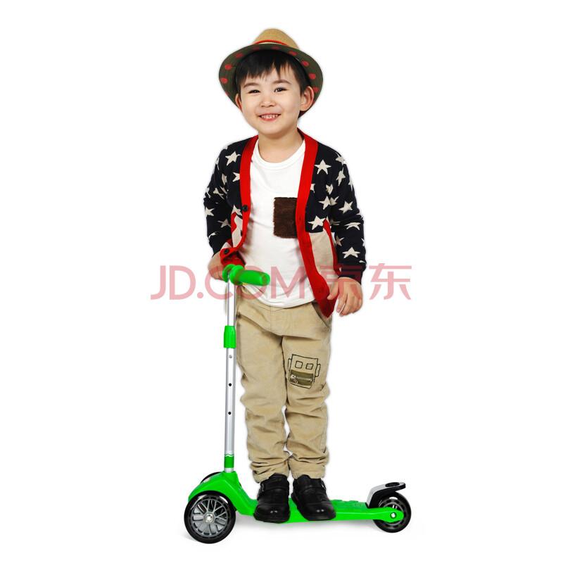 英国mookie匡驰最安全儿童超轻三轮滑板车活力车踏板