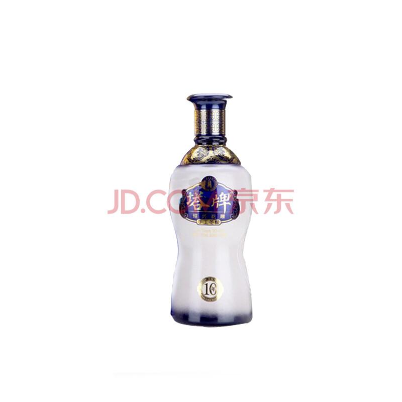 绍兴黄酒 塔牌十年手工冬酿500ml 半干型 糯米黄酒
