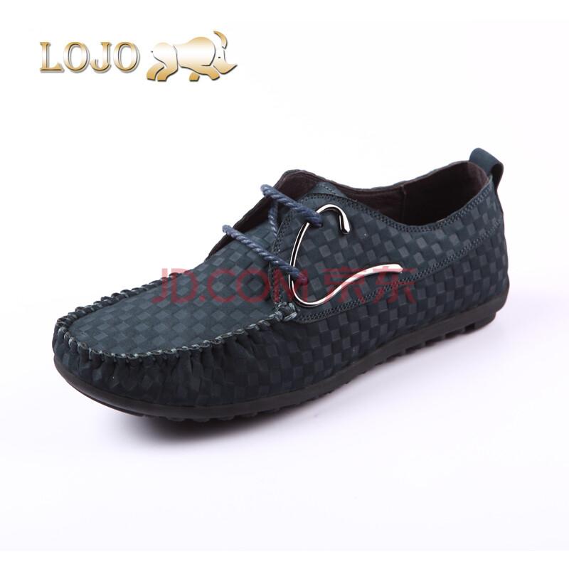 lojo犀牛鞋时尚潮流休闲鞋透气舒适真皮皮鞋2013新品