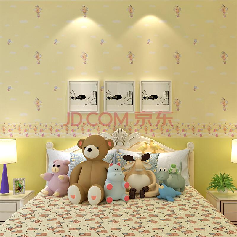 儿童卧室卡通壁纸
