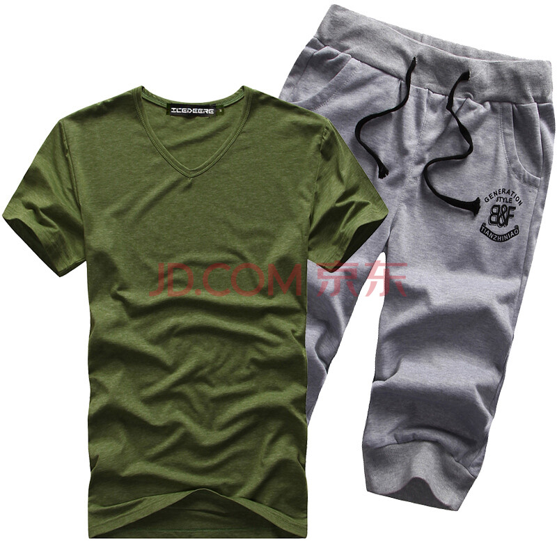 夏季新款套餐男士休闲运动套装随意搭配方式任你选