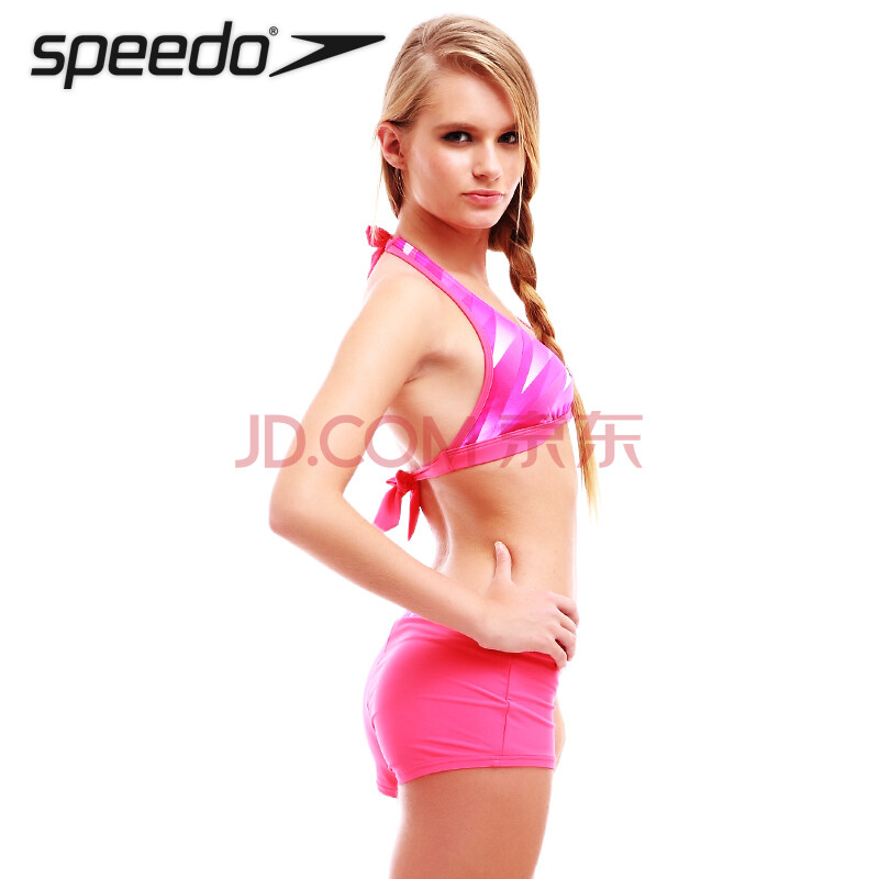 speedo速比涛 泳衣 分体女 游泳衣