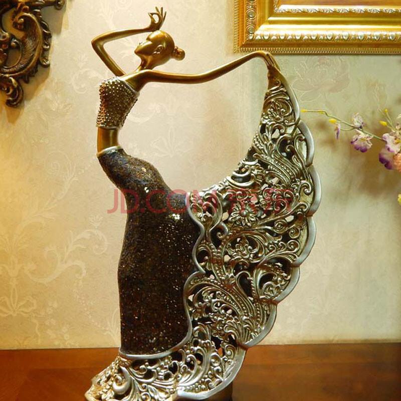 欧式美女软装饰品 客厅创意摆件家居饰品