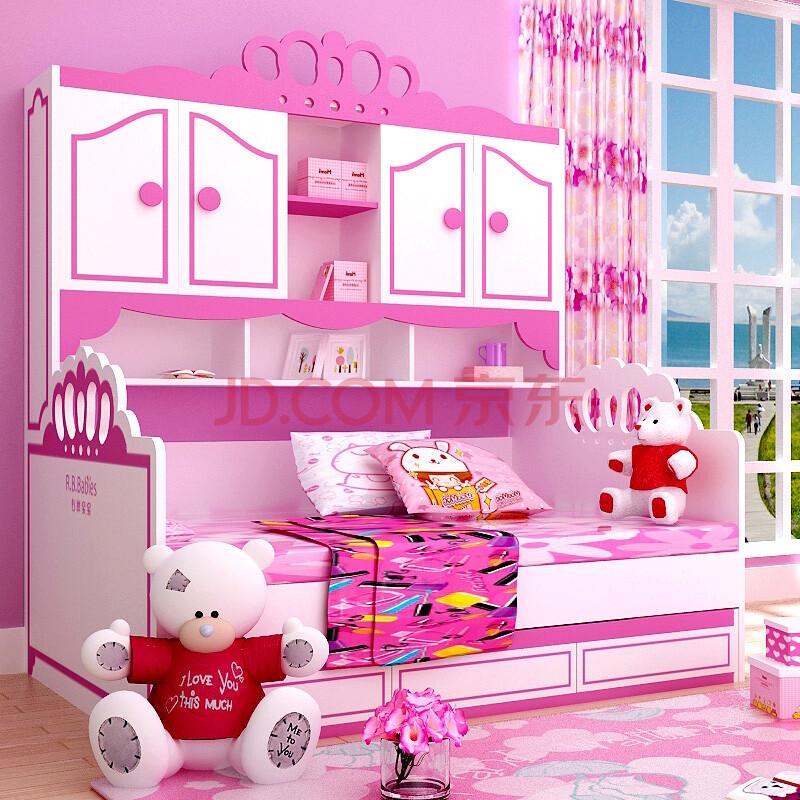 儿童家具公主房伊丽莎白经典儿童床