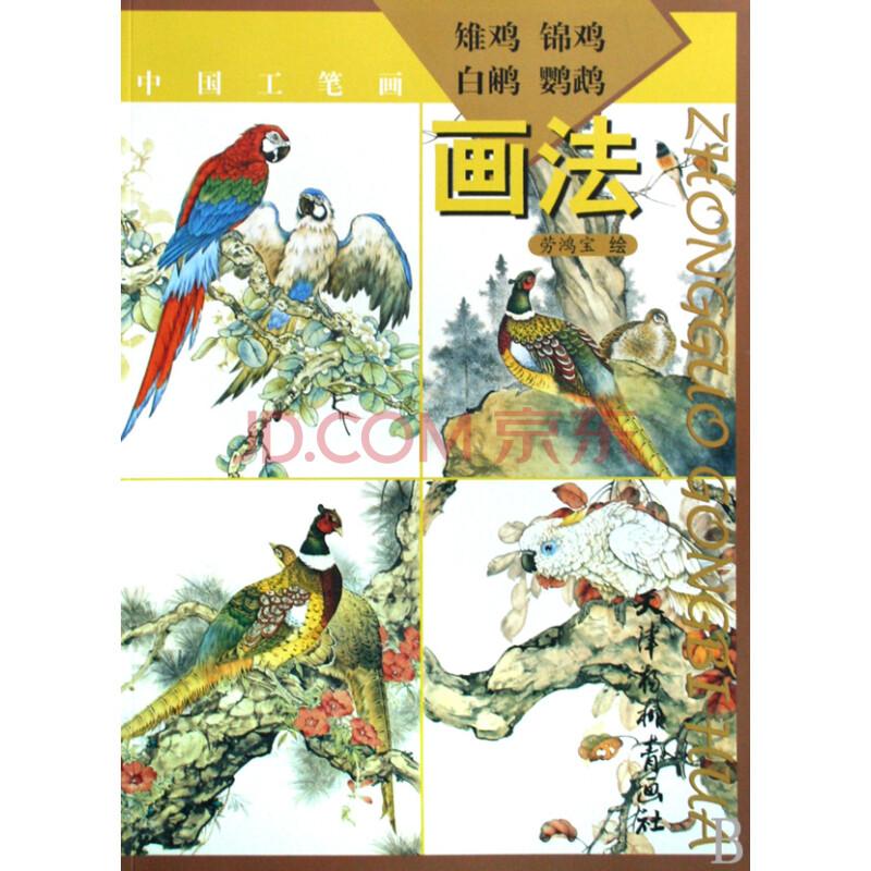 雉鸡锦鸡白鹇鹦鹉画法(中国工笔画)
