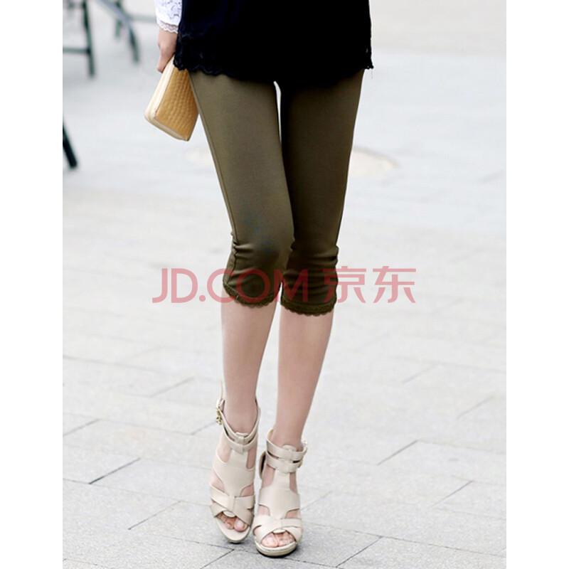 七分裤女夏显瘦短裤
