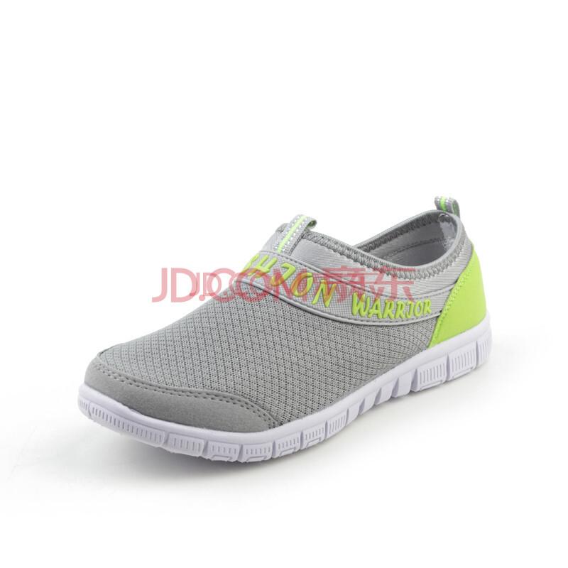 2014春夏新款 女士专业运动网布防滑耐磨休闲运动鞋