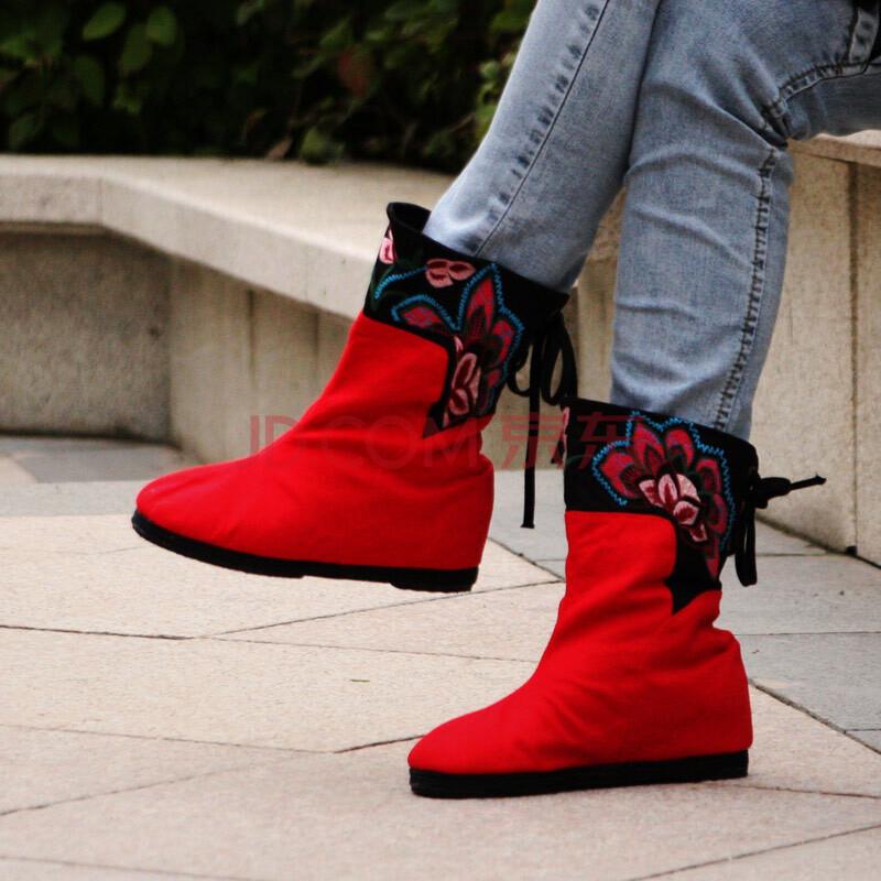老北京布鞋女靴
