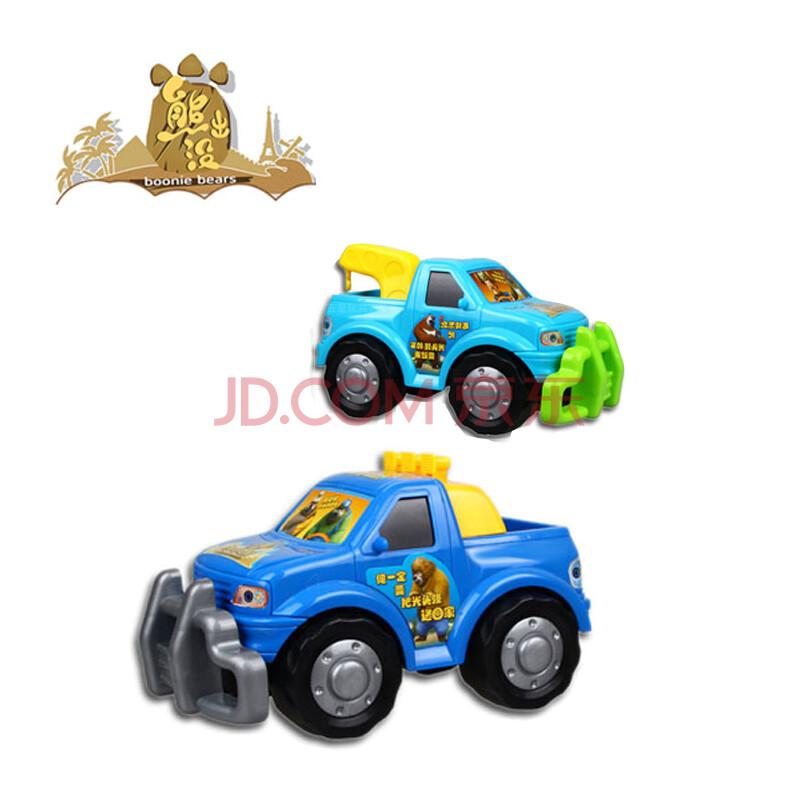 儿童健身益智玩具 无回力光头强卡车