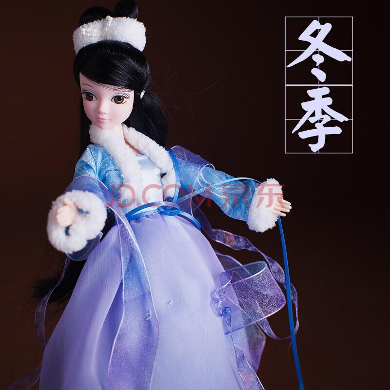 可儿娃娃 古装芭比 四季仙子