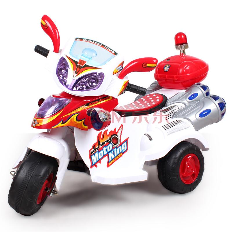 儿童电动车三轮车警车