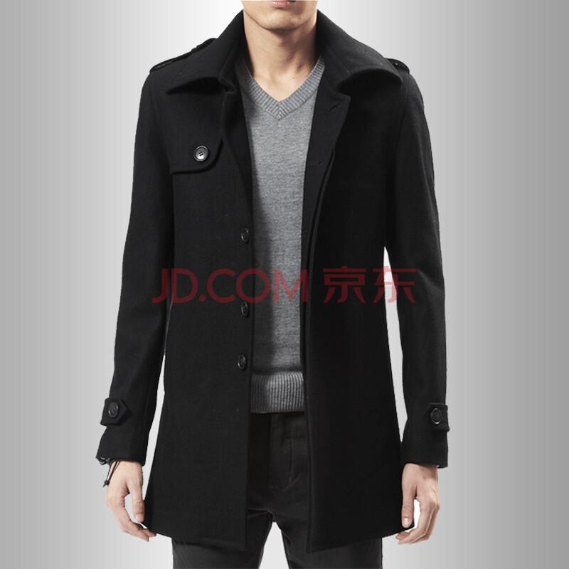 慈母吟2013男士呢子大衣