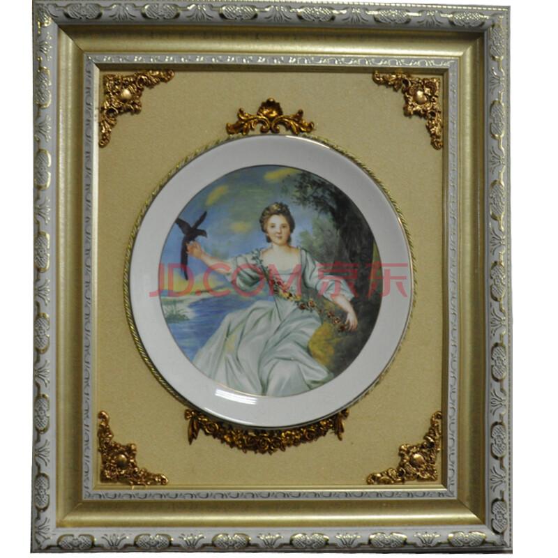 室全室美高档欧式陶瓷画壁画挂画类似油画装饰画现代