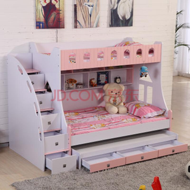 儿童床双层床儿童家具上下床高低床子母床