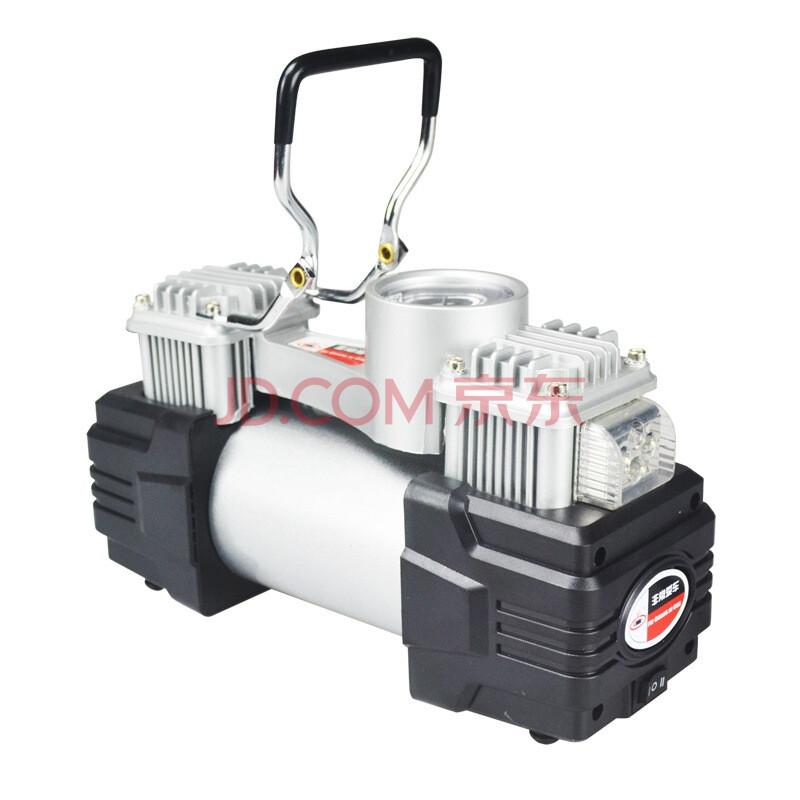 非常爱车 车载充气泵1250-0 双缸充气泵 便携式12v气泵 带灯双缸90秒快速打气