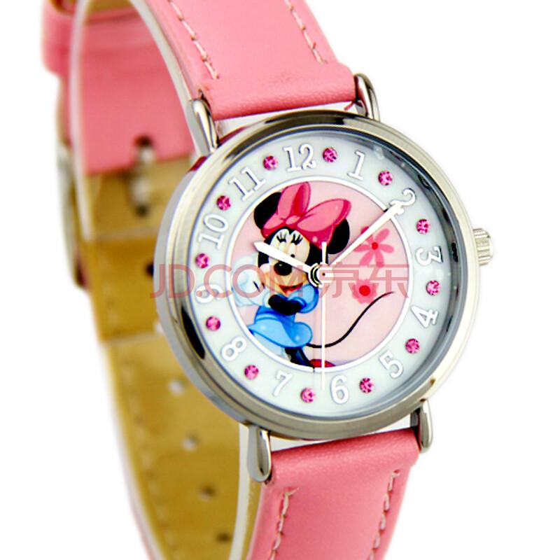 正品迪士尼手表儿童手表学生表米奇手表白雪公主手表