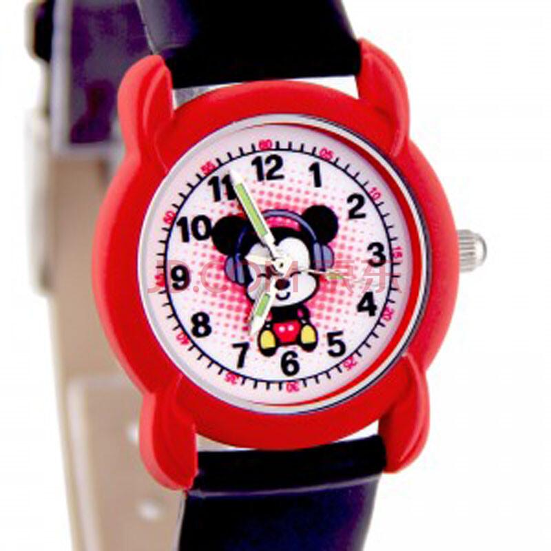 针音乐米奇表带儿童手表表