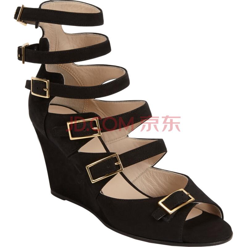 大东女士坡跟凉鞋,女式坡跟凉鞋,女士坡跟塑料凉鞋包头,女士-