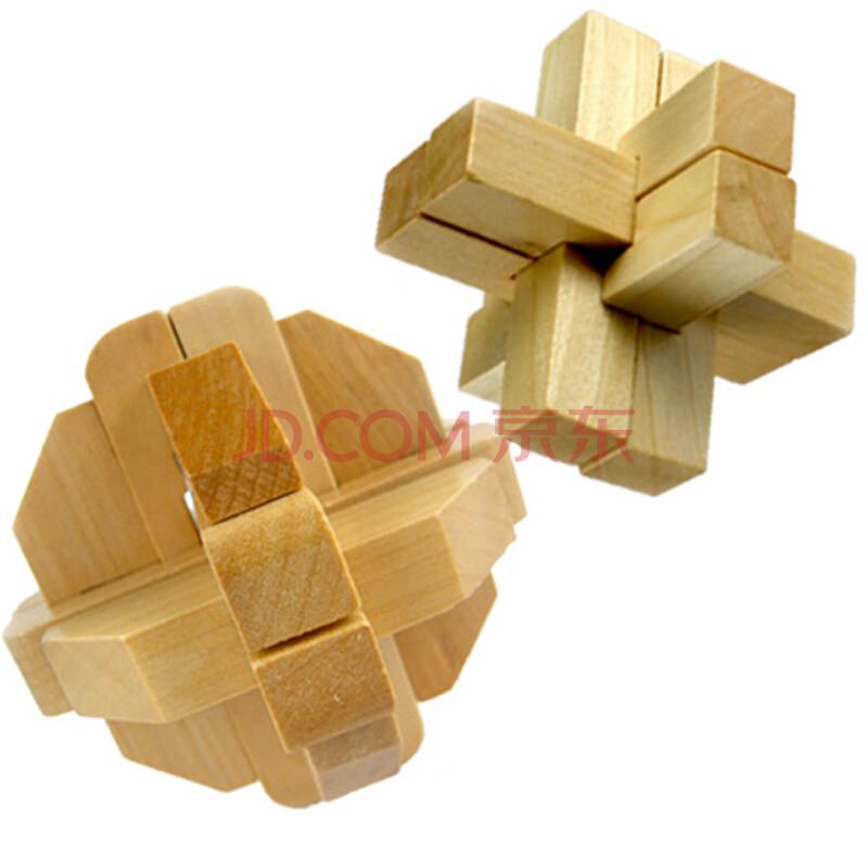 木童卫星球 6跟孔明锁 鲁班锁 解锁 解套 儿童智力成人动手拼装益智