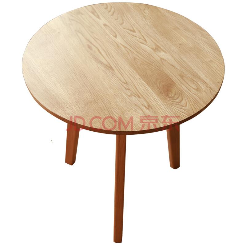 圆茶几 角柜 边桌 全实木 白橡木 咖啡桌 家具 bzt-rk01 原木色