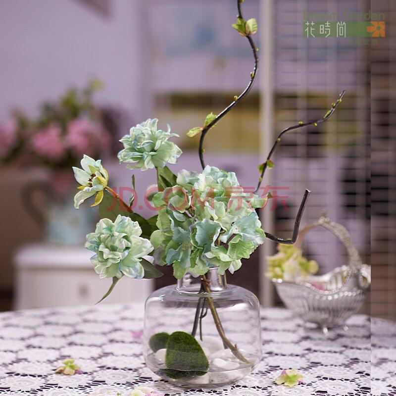 装礼品 欧式绣球花
