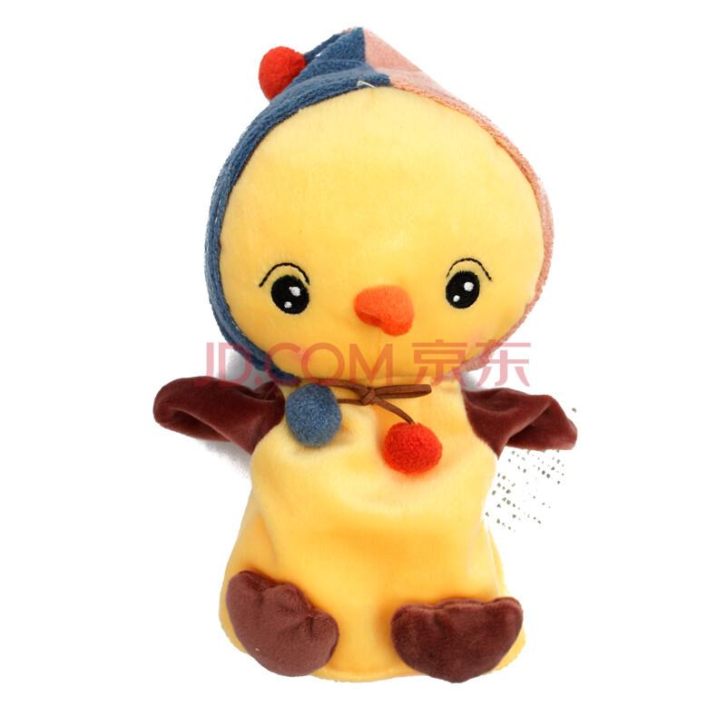可爱卡通小猴子熊猫小鸡绵羊手偶手套玩偶毛绒安抚