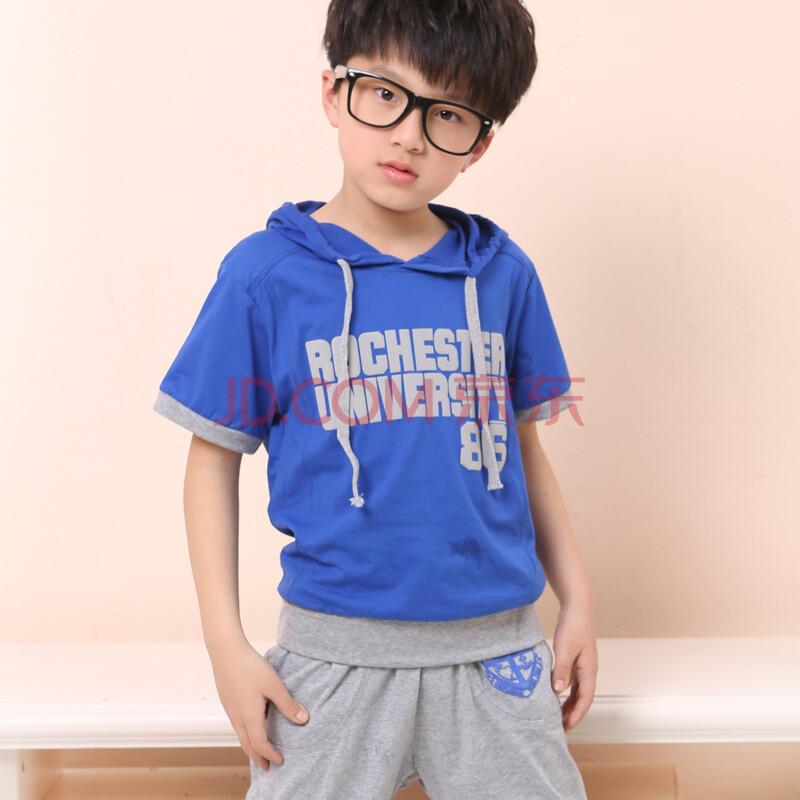 男童套装夏装2014款 儿童装中大童男装运动服二件套