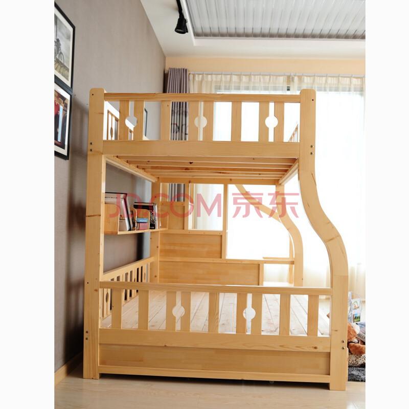 实木儿童上下铺 高低床