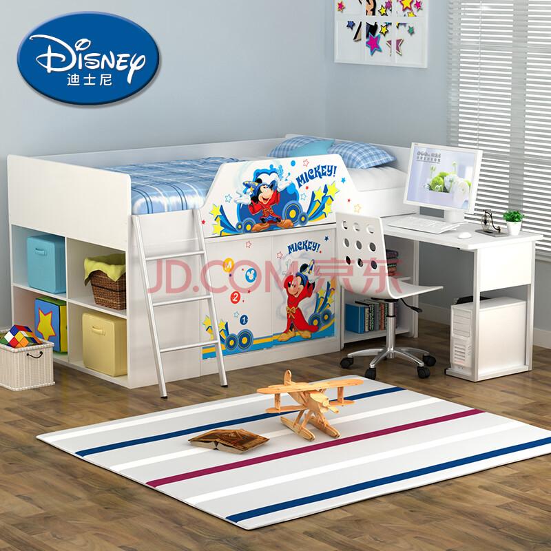 酷漫居儿童家具 迪士尼多功能组合儿童床