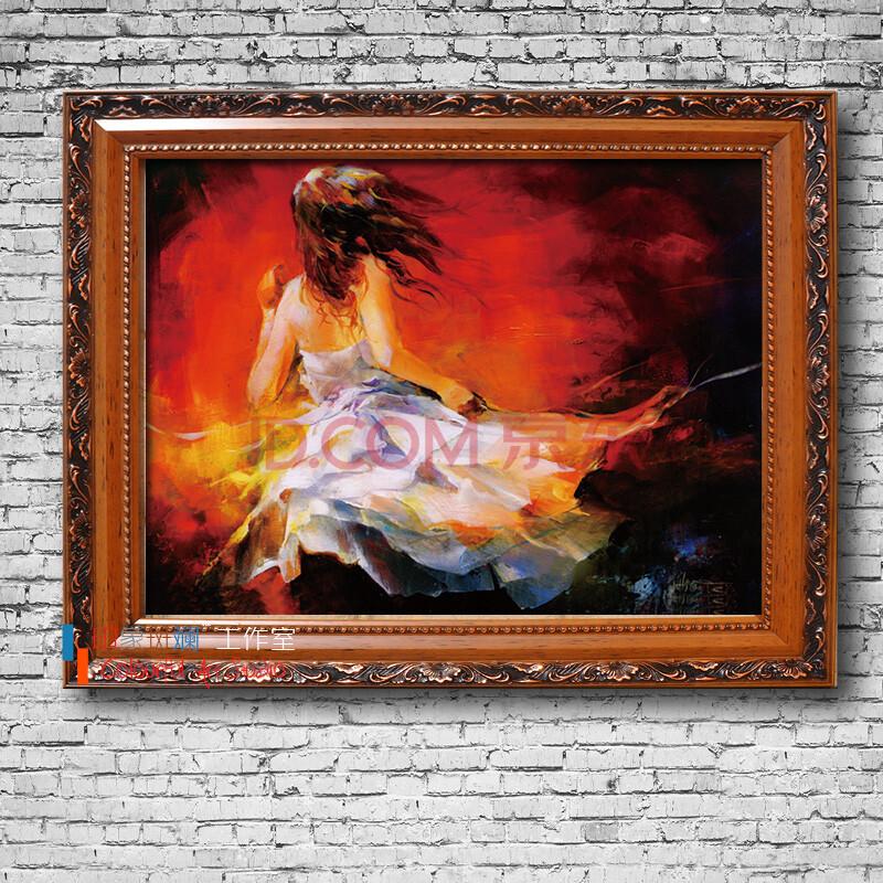 青春舞者系列 纯手绘油画