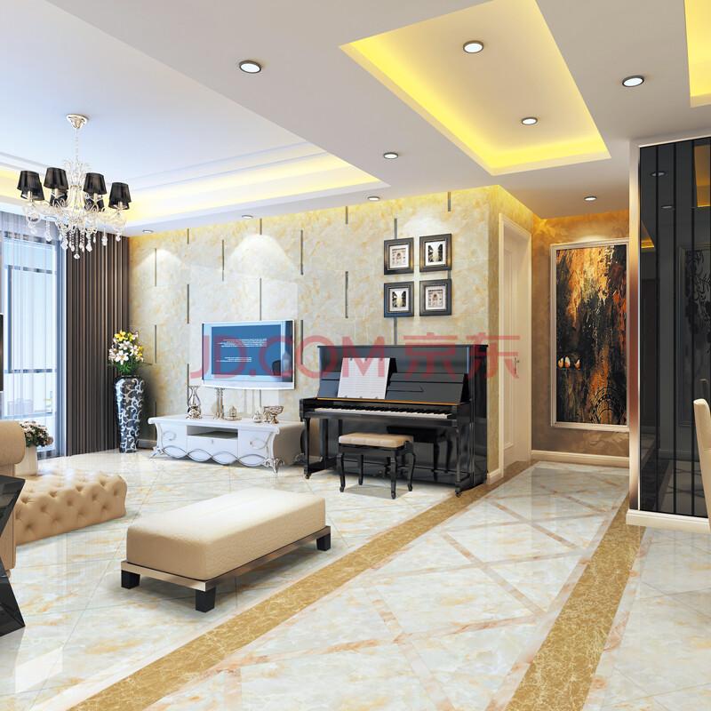 房间走廊地板砖效果图