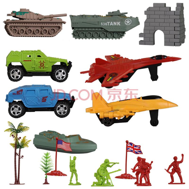 起航玩具 火力战队 军事战斗机