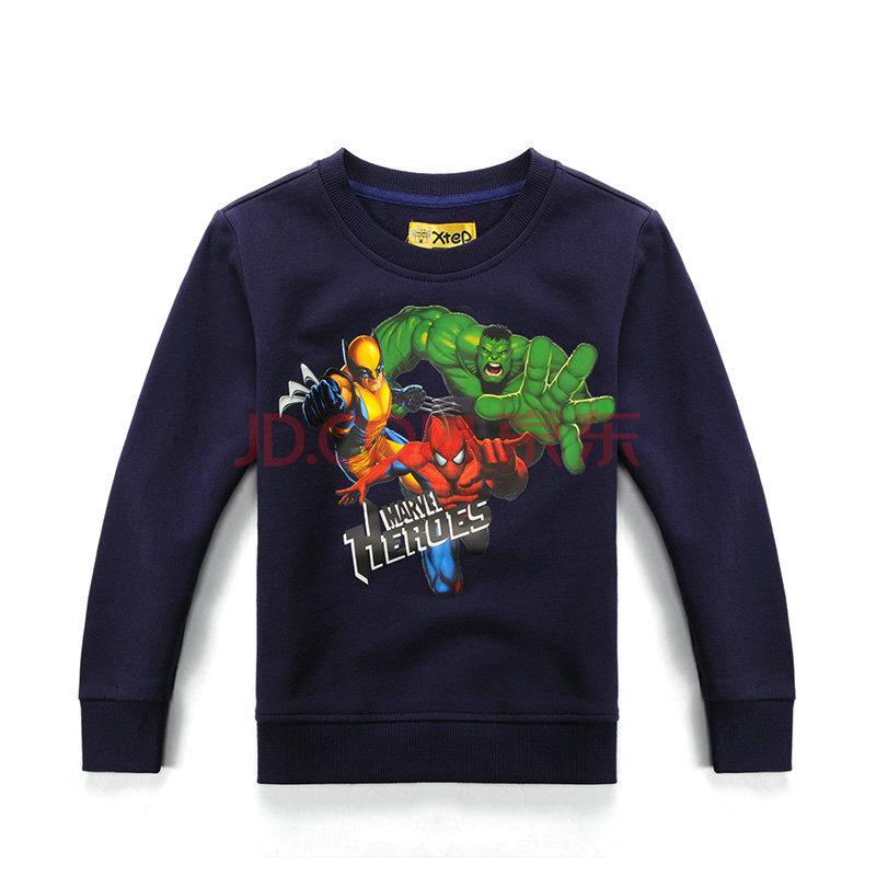 【特步兒童】春款新品綠巨人/蝙蝠俠/蜘蛛俠英雄聯盟