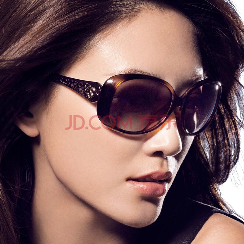 陌森太阳镜女士 欧美潮镜 户外偏光驾驶渐变色潮墨镜图片
