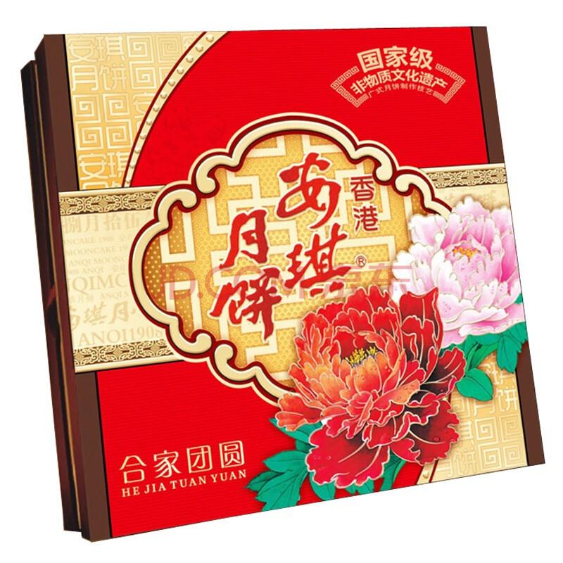 安琪 合家团圆月饼礼盒882g图片