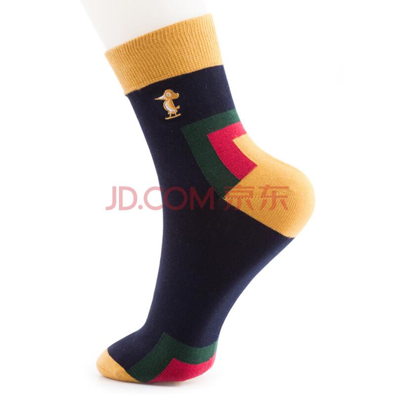 闲袜子 黄黑图片