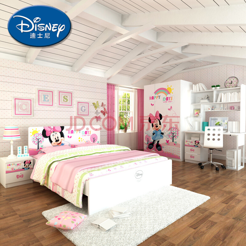 迪士尼儿童家具四件套