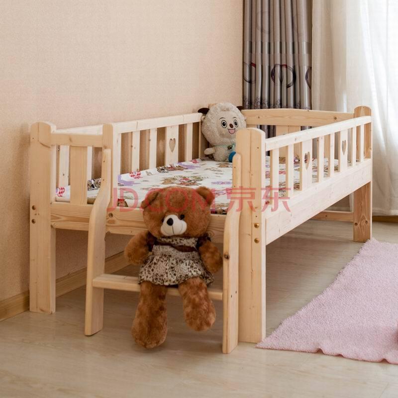 实木床 松木床婴儿床 儿童实木床