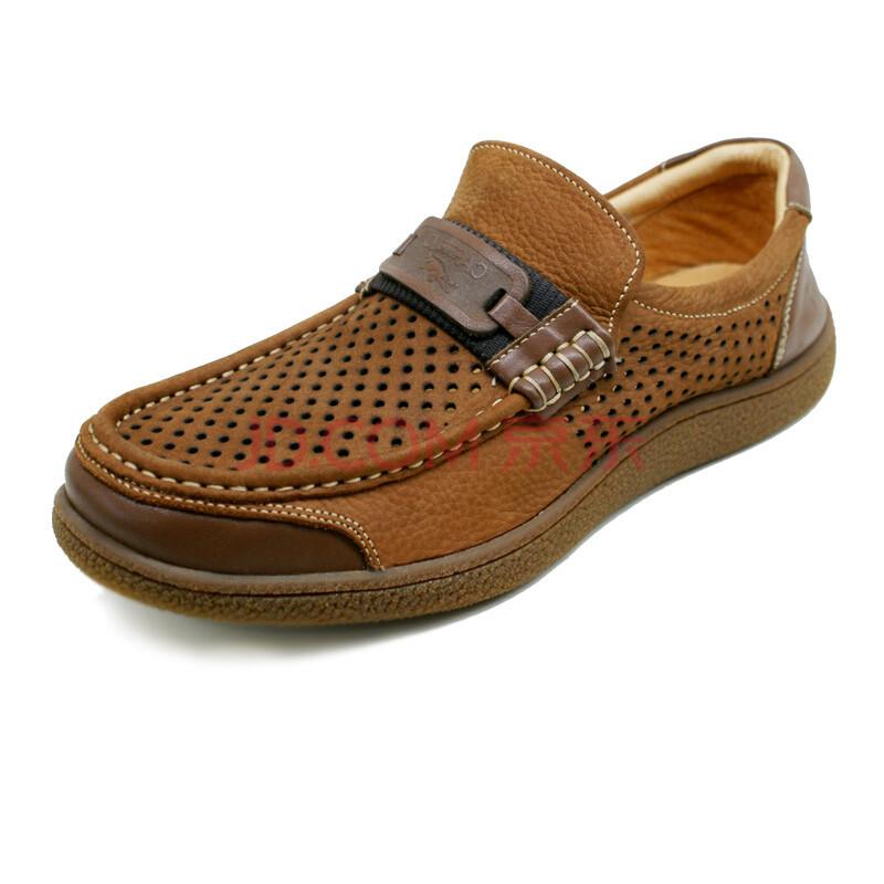 cartelo卡帝乐鳄鱼皮鞋