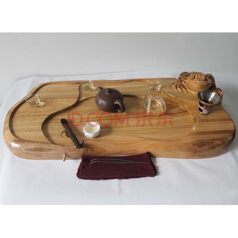 典艺阁实木根雕茶海 原木整体根雕艺术茶几